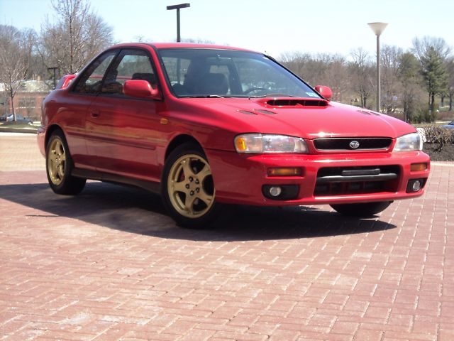 1998 Red 2.5RS Coupe for sale - ebay - Subaru Impreza GC8